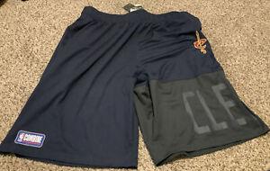 UNDER ARMOUR NBA Cleveland Cavaliers  Shorts Navy Combine Men's Size: 2XL