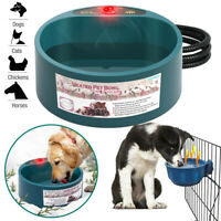 Pet Heated Bowl Automatic Constant Temperature Heating Cat Dog Food Basin US