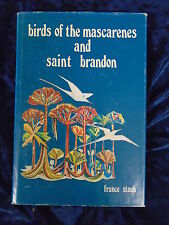 BIRDS OF THE MASCARENES AND SAINT BRANDON by FRANCE STAUB-1976- H/B WITH JACKET