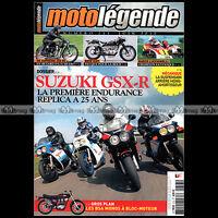 MOTO LEGENDE N°213 SUZUKI GSXR 750 1100 BMW R51/3 R67/2 ISDT MARCO LUCCHINELLI