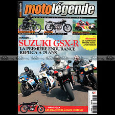 MOTO LEGENDE N°213-b SUZUKI GSXR 750 1100 BMW R51/3 R67/2 ISDT MARCO LUCCHINELLI