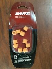 Shure EAORF2-10M Medium Foam Sleeves (10 Included/5 Pair) for E2c, SE102MPA