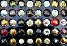 40 CAPSULES de CHAMPAGNE FRANCE REIMS toutes différentes VIN Vigne MUSELET Lot 2