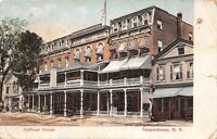C84/ Cooperstown New York NY Postcard 1907 Hoffman House Hotel
