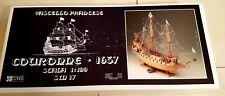 Wooden Ship Corel SM 17 French Couronne 1637 1/100