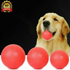 Indestructible Training Toy Rubber Ball Pet Puppy Dog Chew Play Fetch Bite PQ