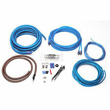 Stinger SQK4ANL Complete 4 AWG Gauge Amplifier Wiring Kit w/ 2 Channel RCA Cable