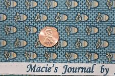 """""""CIVIL WAR MACIE'S JOURNAL"""" REPRODUCTION QUILT FABRIC BTY MARCUS 2358-0150"""