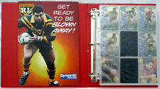 1995 NRL RUGBY LEAGUE TRADING CARDS 1 of only 10 Sets Issued Very Rare with COA