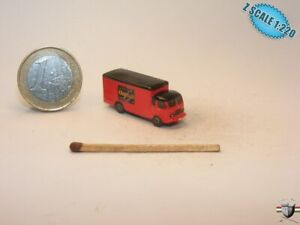 Ford Cargo 1959 Z scale 1/220 Hand-painted Metal Model