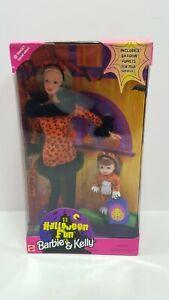 1998 Halloween Fun Barbie & Kelly #23460 Target Special **NIB**