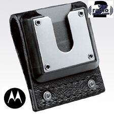 "Real Motorola NTN8039B High Activity Belt Loop 2.5"" Leather Swivel Belt Loop New"