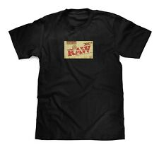 RAW Rolling Papers Black Tee size Medium
