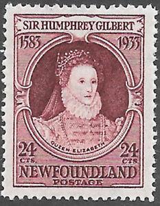 Newfoundland Scott Number 224 SG 248 FVF LH Cat $27