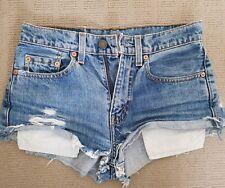Levi's High Waisted Denim Shorts Vintage 26 6