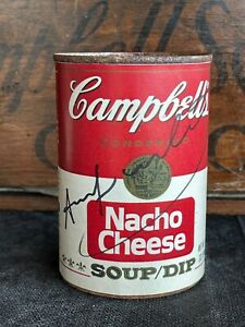 ANDY WARHOL -  Campbell's Soup Can ! NACHO CHEESE !!