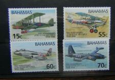 Bahamas 1998 RAF (80th Anniversary) set MNH