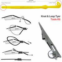 2 STÜCKE Tie Schnelle Nagel Knoten Binden Tool & Loop Tyer Haken Tier Für Fly