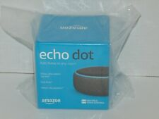 Amazon Echo Dot Smart Speaker with Alexa Voice Control 3rd Gen Black