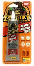 Gorilla Glue Contact Adhesive 100% Waterproof No-Run Formula Instant Bond Clear.