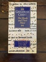GREGORIAN CHANT The Monks And Their Music VHS Cassette & Cassette Tape Box Set