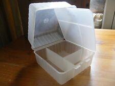 Vintage plastic bento lunch box