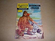 Classics Illustrated No. 10 Robinson Crusoe January 1944 Reprint FN/VF 7.0