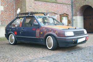"4x Moon Caps + Weißwandringe 14"" Zoll  Felge BMW Opel Mini Volvo Trabant MG"