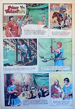 Prince Valiant by Hal Foster - scarce full page Sunday comic - February 15, 1970