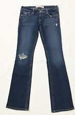 Hollister Socal Stretch Distressed Destroyed Jeans Women size 3 R W 26 x 31