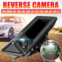 Car Rear View Reverse Camera Trunk Boot Handle For BMW E82 E88 E84 E90 E91 E92