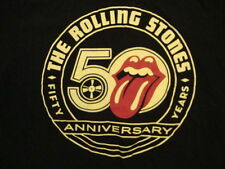 The Rolling Stones 50 Year Anniversary Rock Band Fan Black T Shirt M