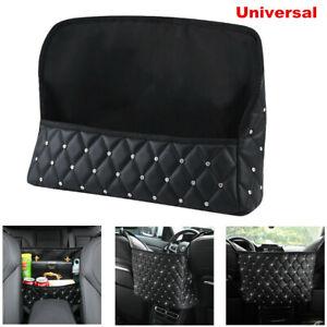 Car PU Storage Organizer Seat Side Bag Holder Multi-functional Pocket Universal
