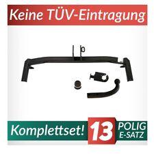 Für Volkswagen Polo III 6N2 Variant 97-02 Kpl. Anhängerkupplung starr+E-Satz 13p