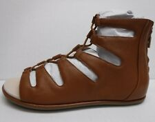 Kenneth Cole New York Size 8 Brown Leather Gladiator Sandals New Womens Shoes