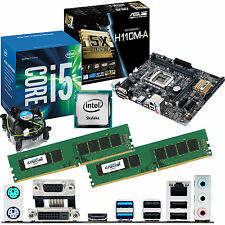Intel Core i5 6400 2.7ghz & ASUS h110m-a & 16gb ddr4 2133 Bundle Crucial