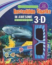 3d Sticker Scene: Incredible Sharks-
