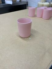 12 x 20cl Blush Pink Candle Glass 200ml