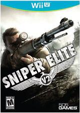 Sniper Elite V2  (Wii U) Brand New / Factory Sealed /