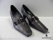 Chaussures ARTIKA VIAL gris noir FEMME talons taille 35 NEUF