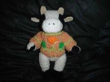 Chrisha Playful Plush Cow Stuffed 9 Inch Vintage 1988