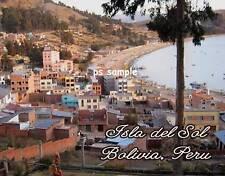 Peru - BOLIVIA  ISLA DEL SOL 2 - Souvenir Fridge Magnet