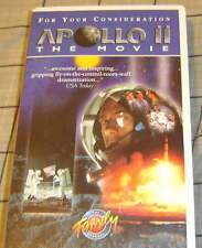 APOLLO 11: THE MOVIE 1996 Family Channel vhs video NEIL ARMSTRONG JANE KAZCMAREK
