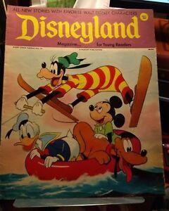 Disneyland Magazine for Beginning Readers  No. 74  Donald Goofy Pluto Mickey
