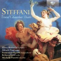 VOCAL CHAMBER DUETS  CD NEW STEFFANI,AGOSTINO