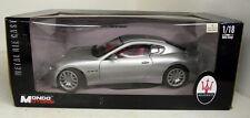 Mondo 1/18 Scale 500413 Maserati Gran Turismo Silver diecast model car