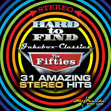 New CD Hard To Find Jukebox Classics The Fifties 31 Amazing Stereo Hits 24Debuts