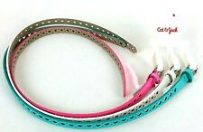 x3 Cat & Jack Girls Belts Medium White Pink Turquoise Hearts Stars Butterflys