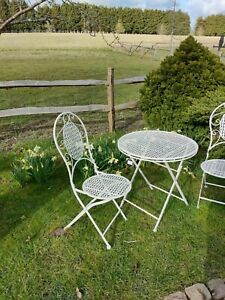 July Special* Bistro Set Folding Table And 2 Chairs