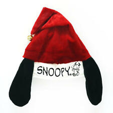New with Tag - Peanuts Snoopy Ears Christmas Jingle Santa Hat  ( Adjustable )